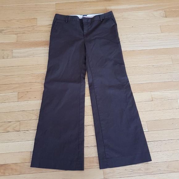 78aad89f3 GAP Pants | Stretch Womens Brown Flare Size 6a | Poshmark